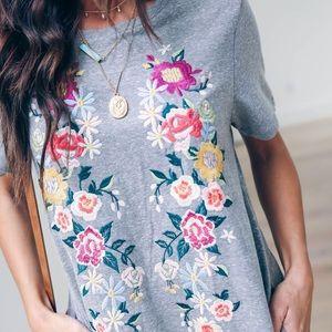 cdcdd75f54f5 Vici Dresses | Heirloom Embroidered Pocketed Shirt Dress | Poshmark